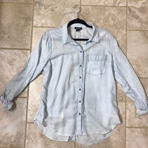 Lucky brand chambray button up